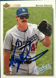 Kevin Gross Autographed 1992 Upper Deck #515