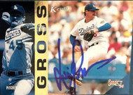 Kevin Gross Autographed 1994 Score Select #157