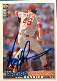 Kevin Gross Autographed 1995 Collectors Choice #402