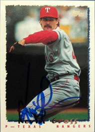 Kevin Gross Autographed 1995 Topps Traded #14T