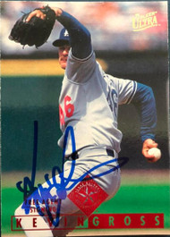 Kevin Gross Autographed 1995 Fleer Ultra #335