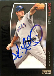 Kevin Millwood Autographed 2009 Topps Unique #41
