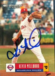 Kevin Millwood Autographed 2005 Donruss #297