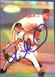 Kevin Millwood Autographed 1998 Topps Gold Label #93 Rookie Card