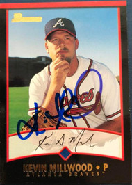 Kevin Millwood Autographed 2001 Bowman #138