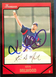 Kevin Millwood Autographed 2007 Bowman #58