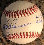 Kevin Gross Autographed ROMLB Baseball No-Hitter 8-17-92 Inscribed