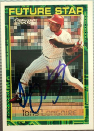 Tony Longmire Autographed 1994 Topps Gold #28