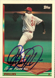 Ben Rivera Autographed 1994 Topps #352