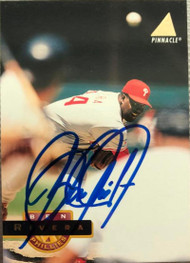 Ben Rivera Autographed 1994 Pinnacle #178