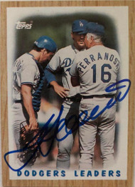 Alex Trevino Autographed 1987 Topps #431