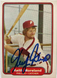 Keith Moreland Autographed 1982 Fleer #252