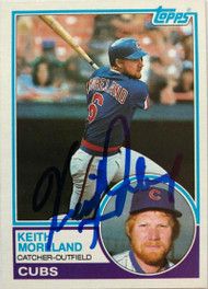 Keith Moreland Autographed 1983 Topps #619