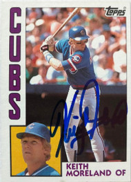 Keith Moreland Autographed 1984 Topps #23