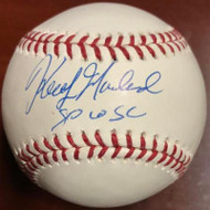 Keith Moreland Autographed ROMLB Baseball 1980 W.S.C.