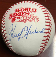 Keith Moreland Autographed 1980 World Series Baseball