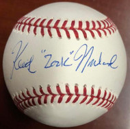 "SOLD 5391 Keith ""Zonk"" Moreland Autographed ROMLB Baseball"