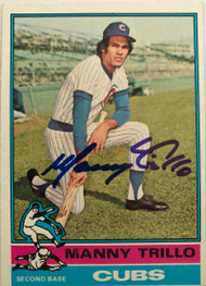 Manny Trillo Autographed 1976 Topps #206
