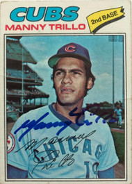 Manny Trillo Autographed 1977 Topps #395