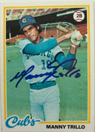 Manny Trillo Autographed 1978 Topps #123