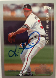 Kevin Millwood Autographed 1999 Topps Opening Day #124