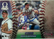 Kevin Millwood Autographed 1998 Pacific Omega #24 Rookie Card