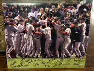 2007 World Series Champion Boston Red Sox Autographed 16 x 20 Photo Fanatics