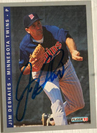 Jim Deshaies Autographed 1993 Fleer Final Edition #F-234