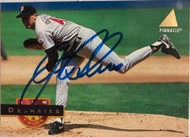 Jim Deshaies Autographed 1994 Pinnacle #301