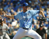 Ryan Madson Autographed Royals 8 x 10 Photo 3