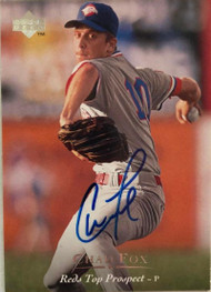 Chad Fox Autographed 1995 Upper Deck Minors #138