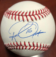 Ron Oester Autographed ROMLB Baseball