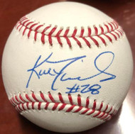 Kal Daniels Autographed ROMLB Baseball