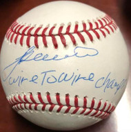 SOLD 5929 Alex Trevino Autographed ROMLB Baseball Wire to Wire