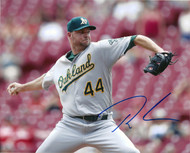 Ryan Madson Autographed A's 8 x 10 Photo 4