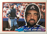Ozzie Virgil Autographed 1989 Topps Big #148