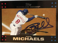 Jason Michaels Autographed 2007 Topps #159