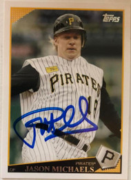 Jason Michaels Autographed 2009 Topps #183