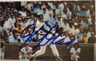 Keith Moreland Autographed 1982 Cubs Red Lobster #6