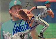 Walt Weiss Autographed 1993 Flair #55