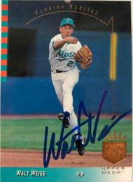 Walt Weiss Autographed 1993 SP #143