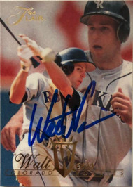Walt Weiss Autographed 1994 Flair #377