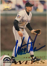 Walt Weiss Autographed 1995 Pacific #147