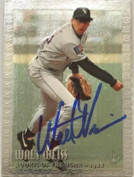 Walt Weiss Autographed 1995 Topps Embossed #112