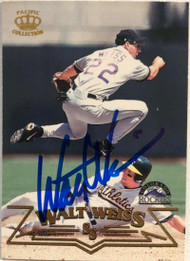 Walt Weiss Autographed 1998 Pacific #291