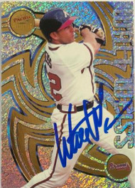 Walt Weiss Autographed 1998 Pacific Revolution #17