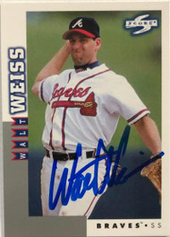 Walt Weiss Autographed 1998 Score Rookie/Traded #RT98