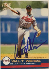 Walt Weiss Autographed 2001 Pacific #48