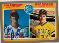 Ron Robinson Autographed 1985 Fleer #650