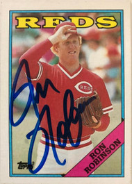 Ron Robinson Autographed 1988 Topps #517